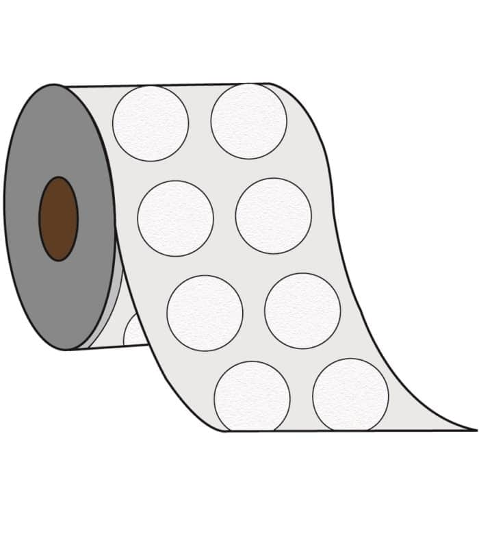 2 UP Label - 2 Labels Across the Roll