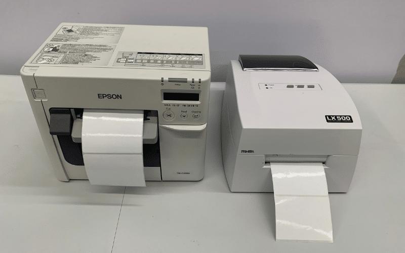 TM-C3500 side by side LX500