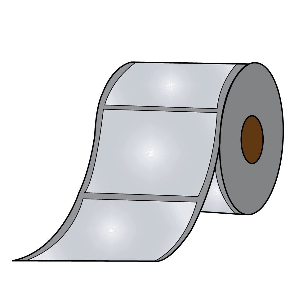 Glossy Label Roll for Afinia L301