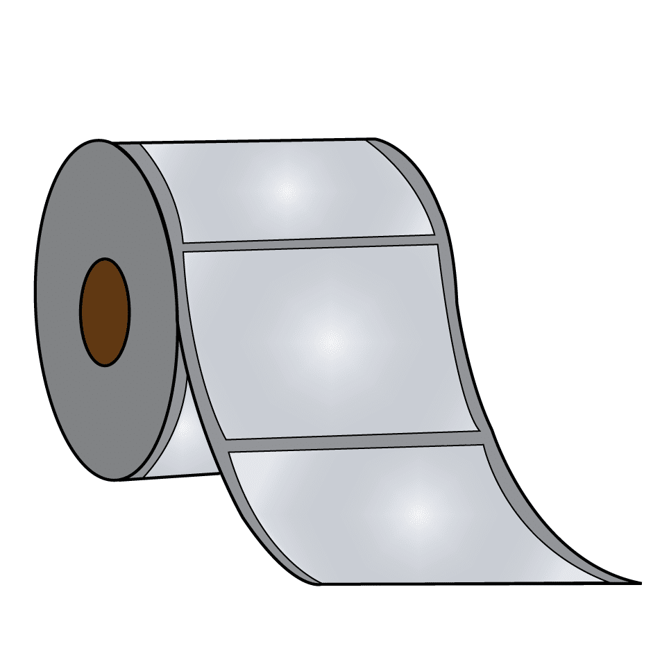 Glossy Label Roll for Primera LX500