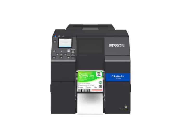 Epson CW-6000P Peel and Present